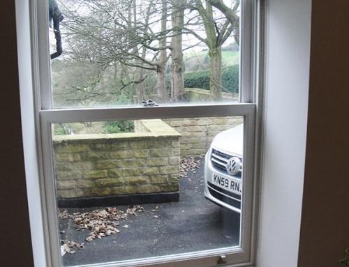 Reclaimed Oak Window Sill – Mellor